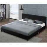 """Čalúnená posteľ ,,Barcelona"""" 180 x 200 cm -čierna"""