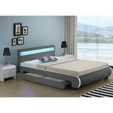 """Čalúnená posteľ ,,Bilbao"""" s úložným priestorom 180 x 200 cm - tmavošedá"""