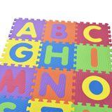 Detské puzzle 36 častí od A po Z a od 0 po 9
