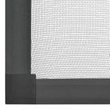 Sieťka s hliníkovým rámom 110 x 130 cm antracitová
