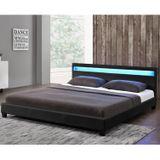 """Čalúnená posteľ ,,Paríž"""" 140 x 200 cm - čierna"""