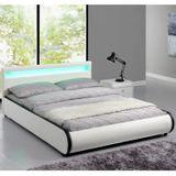 """Čalúnená posteľ ,,Sevilla"""" 180 x 200 cm - biela"""