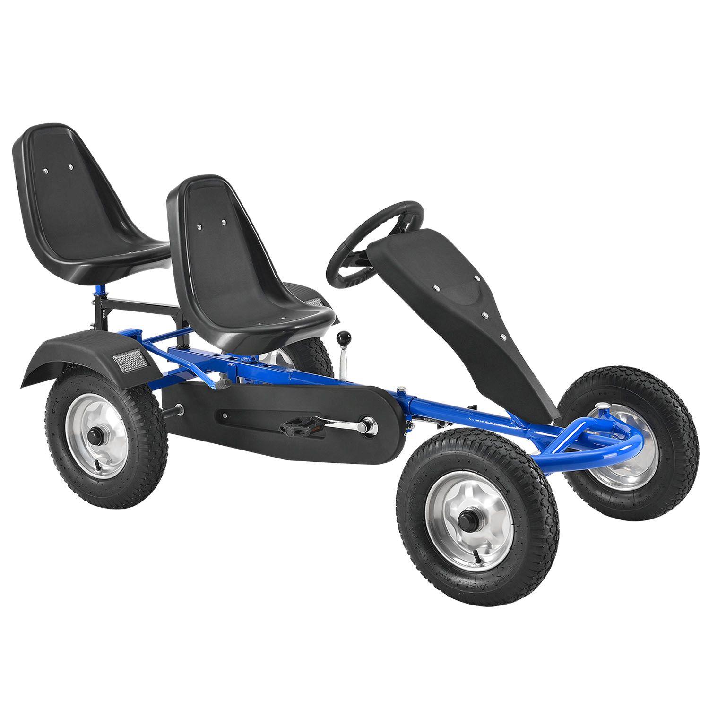 Eshopist 2-miestna motokára, modrá