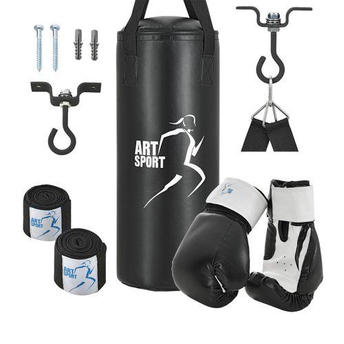 Boxovacie vrece 8kg (boxerské rukavice, bandáže a stropné držiaky)