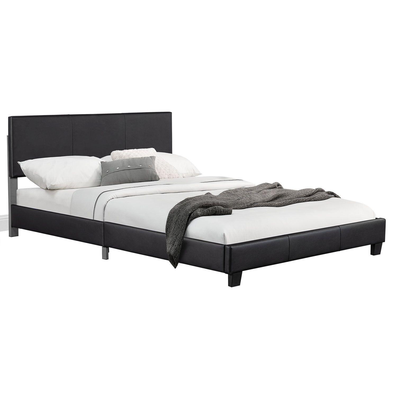 """Eshopist Čalúnená posteľ ,,Barcelona"""" 140 x 200 cm - čierna"""