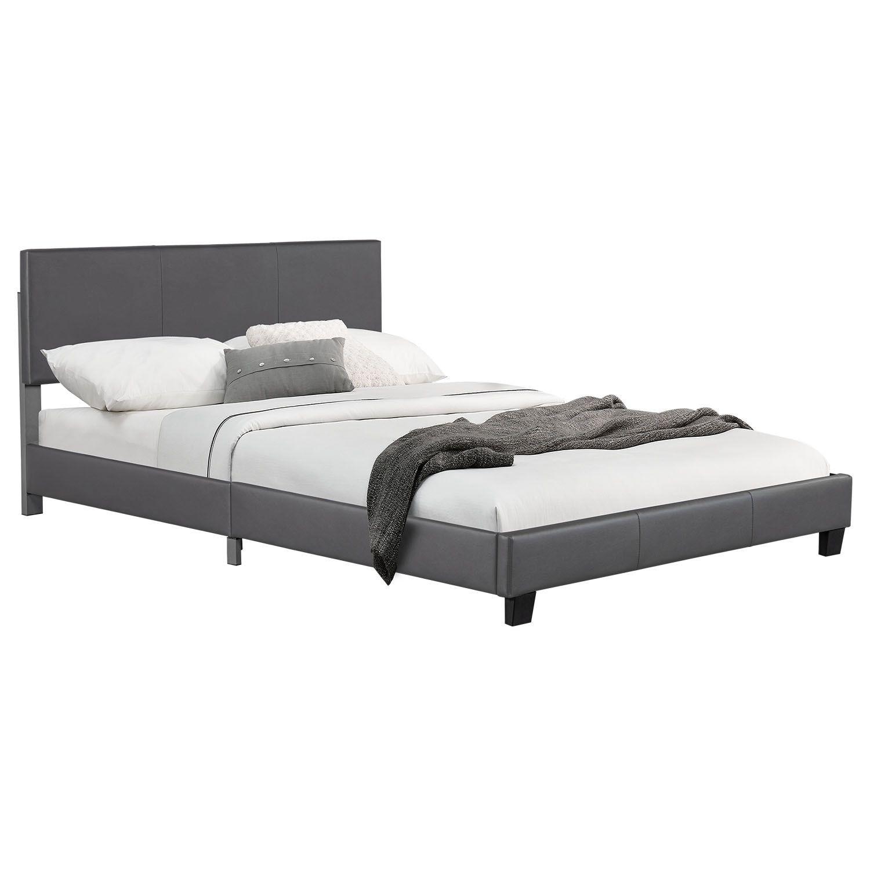 """Eshopist Čalúnená posteľ ,,Barcelona"""" 140 x 200 cm - tmavošedá"""