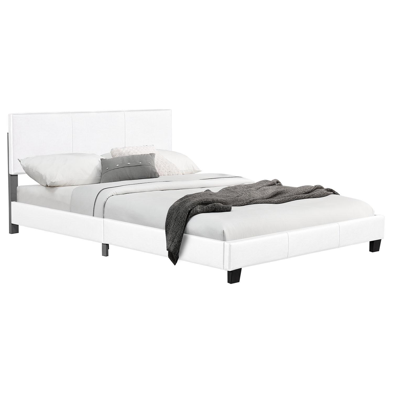 """Eshopist Čalúnená posteľ ,,Barcelona"""" 160 x 200 cm - biela"""