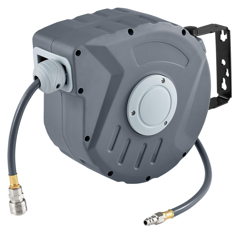Eshopist Kompresor na vzduch s automatickým tlakom 3/8 a10m hadicou s možnosťou montáže na stenu