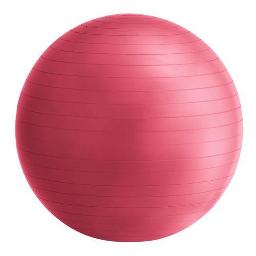 Fit lopta O 75 cm, vrátane ručnej pumpy v červenej farbe