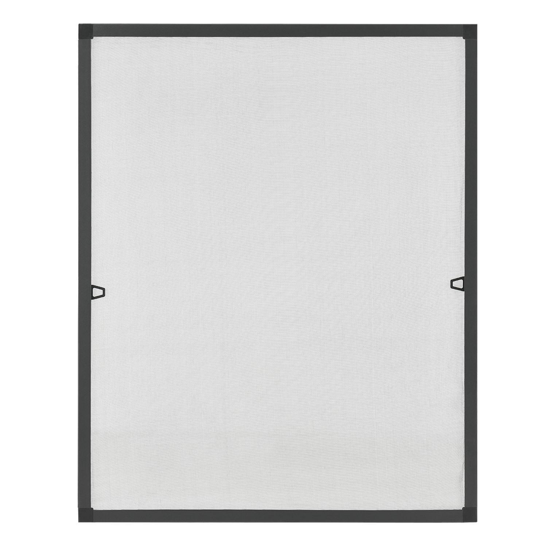 Eshopist Sieťka s hliníkovým rámom 130 x 150 cm antracitová