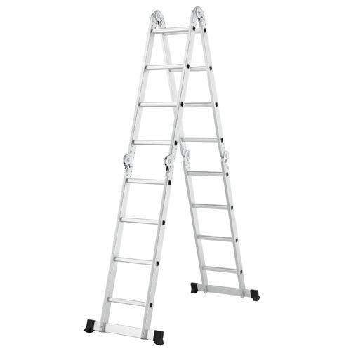 Hliníkový multifunkčný rebrík 4,7 m nosnosť do 150 kg