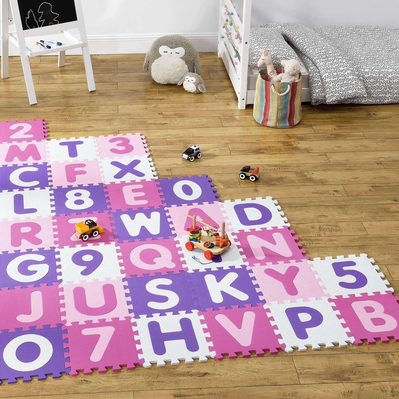 Eshopist Detské puzzle Juna 36 časti od A po Z a od 0 po 9