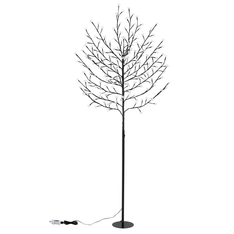 Eshopist Svetelný strom - čerešňové kvety 200 cm s 220 bielimy LED svietidlami (teplé spektrum)