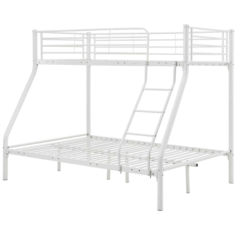 """Eshopist Poschodová postel """"Jonas"""" biela 90 x 190 cm"""