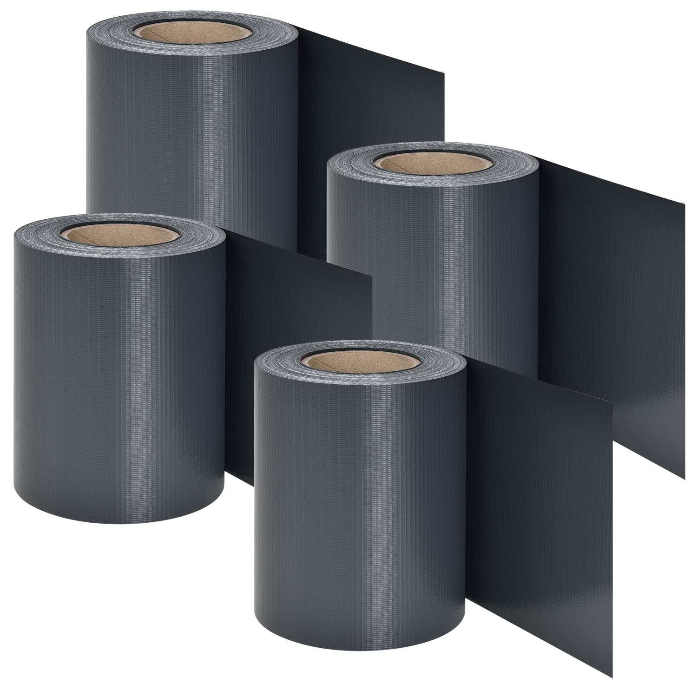 Eshopist PVC ochranný pás 4 kusy - antracitová
