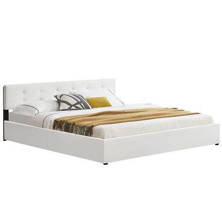 """Čalúnená posteľ ,,Marbella"""" 180 x 200 cm - biela"""