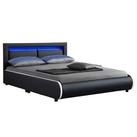 """Čalúnená posteľ ,,Murcia"""" 140 x 200 cm - čierna"""