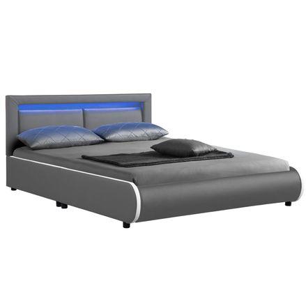 """Čalúnená posteľ ,,Murcia"""" 140 x 200 cm - tmavošedá"""