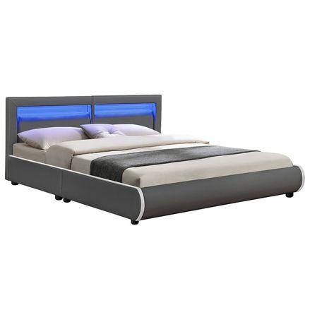 """Čalúnená posteľ ,, Murcia"""" 180 x 200 cm - tmavošedá"""