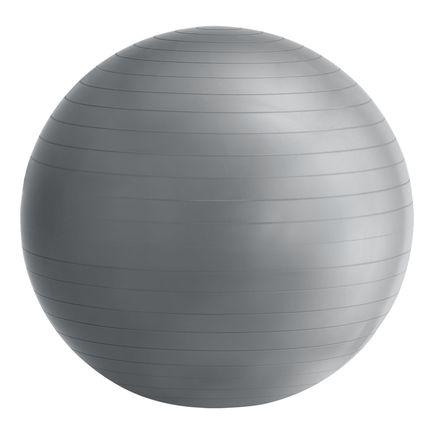 Fit lopta O 75 cm, vrátane ručnej pumpy v šedej