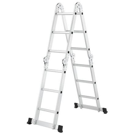 Hliníkový multifunkčný rebrík 3,6 m nosnosť do 150 kg