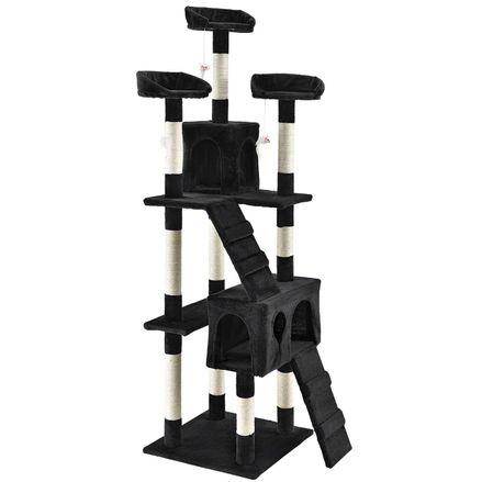 """Mačací strom ,,Amy"""" čierna"""