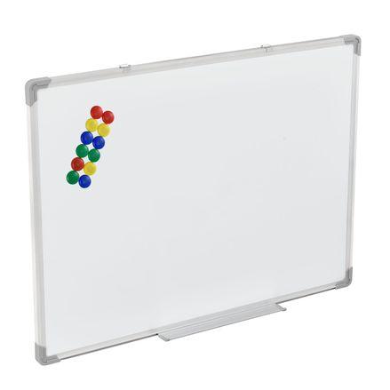 Magnetická tabuľa 80 x 60 cm s 12 farebnými magnetkami