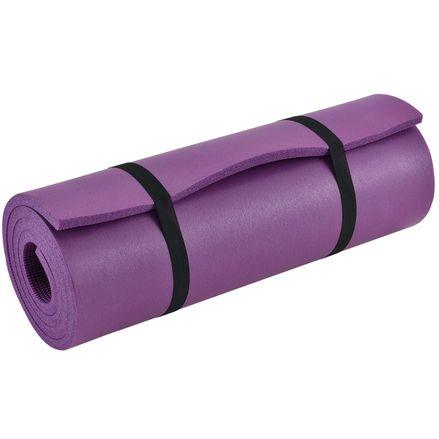 Podložka pre gymnastiku, jogu a fitness 185 x 60 x 1,5 cm vo fialovej farbe