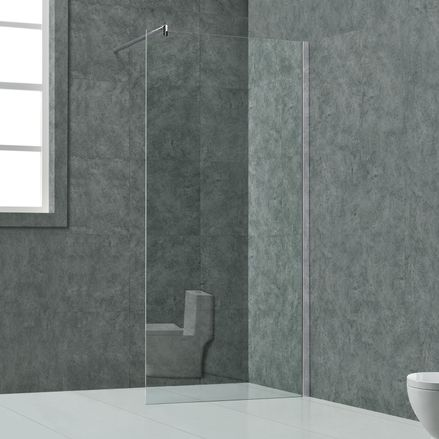 """Sprchový kút ,,Faro"""" 8 mm sklo - 140 x 200 cm"""