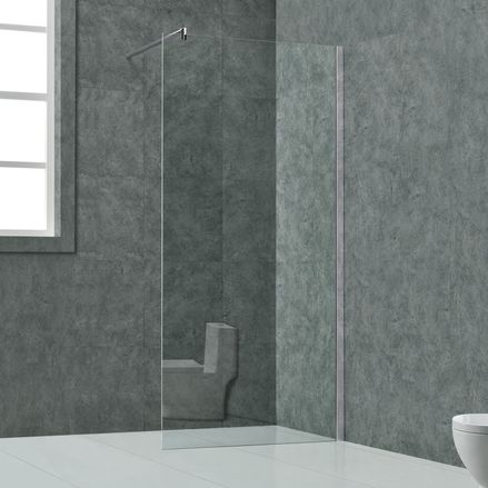 """Sprchový kút ,,Lisabon"""" 10mm sklo - 140 x 200 cm"""