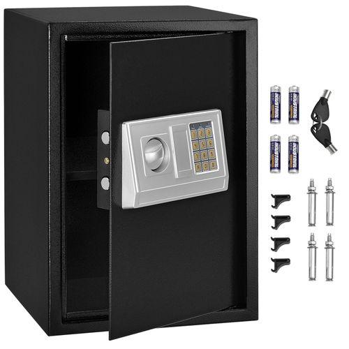 Safe Secure-L s elektronickým kombinovaným zámkom - antracit