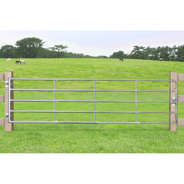 Eshopist Brána SafeGate L vyrobené z pozinkovanej ocele, v balení pánty a skrutky- 400 x 90 cm