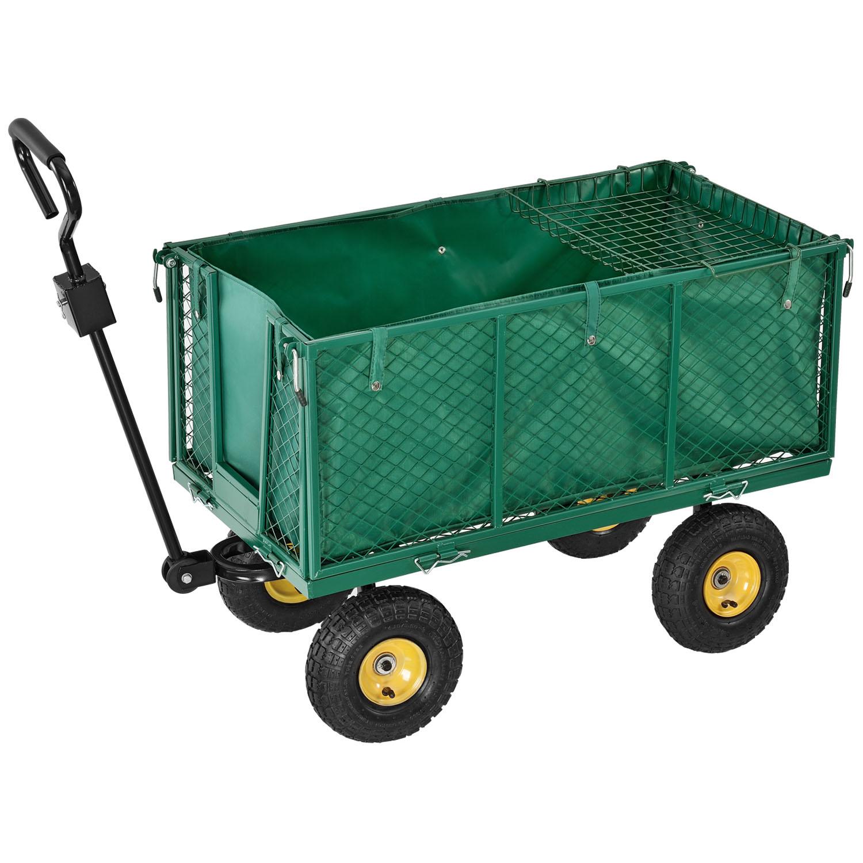 Eshopist Záhradný vozík s odnímateľnou plachtou - max. 550 kg / typ XL