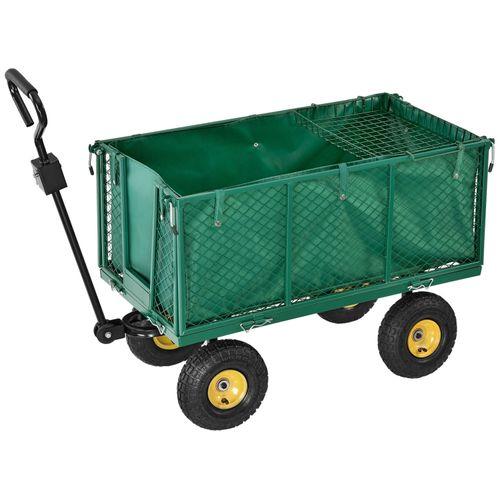 Záhradný vozík s odnímateľnou plachtou - max. 550 kg / typ XL